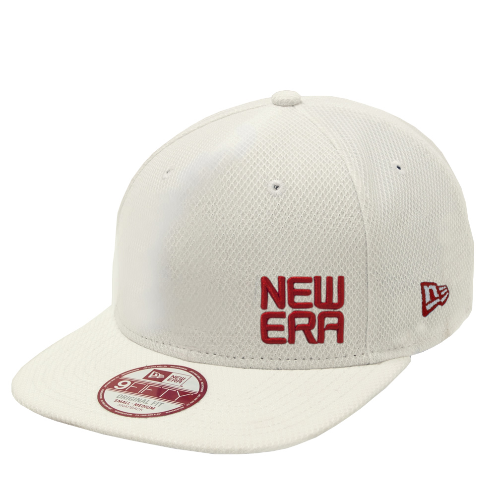 NEW ERA - CASQUETTE 950 STACKED LOGO ROUGE