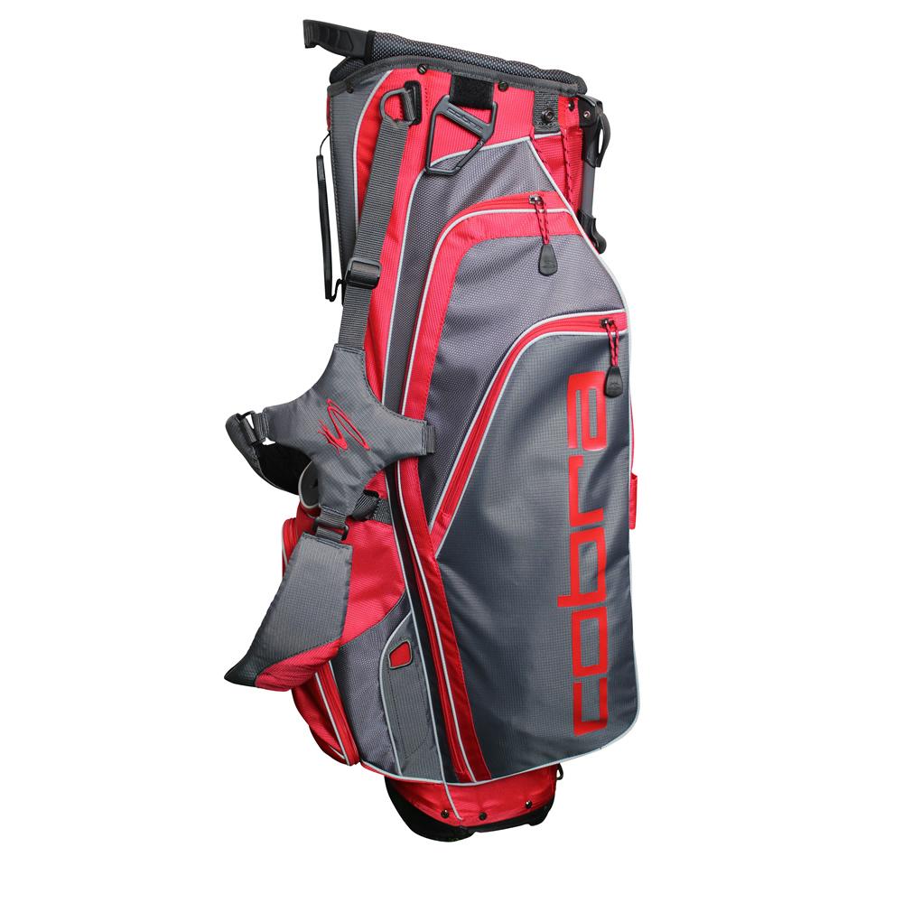 COBRA - X LITE STAND BAG GRIS/ROUGE