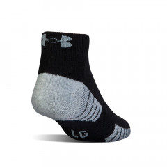 UNDER ARMOUR - CHAUSSETTES TECH LOW CUT NOIR