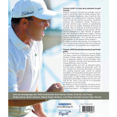 EDITIONS PC - LE GOLF DE THOMAS LEVET