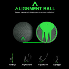 Alignment-ball-Golf-Plus