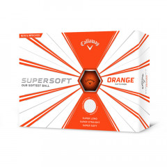 CALLAWAY - BALLES DE GOLF SUPERSOFT MATTE ORANGE