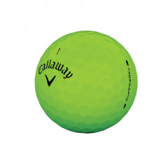 CALLAWAY - BALLES DE GOLF SUPERSOFT MATTE VERT