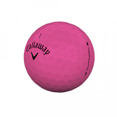 CALLAWAY - BALLES DE GOLF SUPERSOFT MATTE ROSE