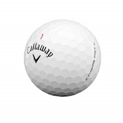 CALLAWAY - BALLES DE GOLF CHROME SOFT 3