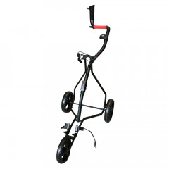 EASYGREEN - CHARIOT SUPER LIGHT 3 ROUES NOIR/ROUGE