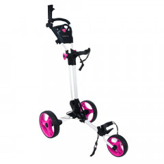 GREEN'S - CHARIOT DE GOLF COMPACT BLANC/ROSE