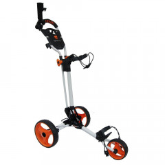 GREEN'S - CHARIOT DE GOLF COMPACT BLANC/ORANGE