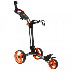 GREEN'S - CHARIOT DE GOLF COMPACT ANTHRACITE/ORANGE