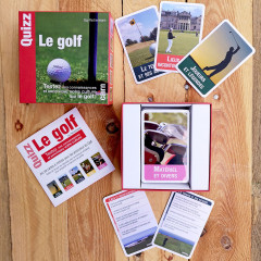 EDITIONS CAIRN - QUIZZ LE GOLF