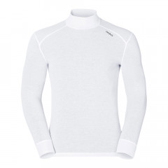 ODLO - SOUS PULL WARN COL ROULE BLANC