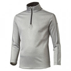 PUMA - SWEAT JUNIOR 1/2ZIP GRIS