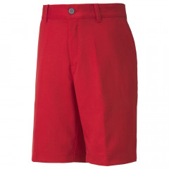 PUMA - BERMUDA JUNIOR UNI ROUGE