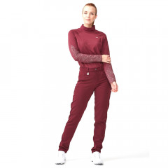 ROHNISCH - PANTALON FEMME TECHNIQUE WARM ROUGE