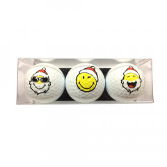 balles de golf smiley