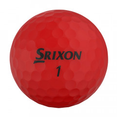 SRIXON - BALLES DE GOLF SOFT FEEL BRITE ROUGE
