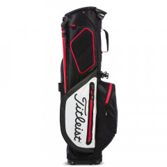 TITLEIST - SAC PLAYERS 4+ STADRY TREPIED NOIR/BLANC/ROUGE