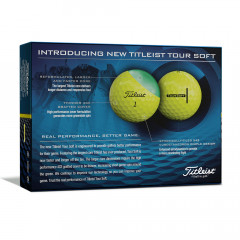 TITLEIST - BALLES DE GOLF TOUR SOFT JAUNE 1