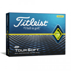 TITLEIST - BALLES DE GOLF TOUR SOFT JAUNE
