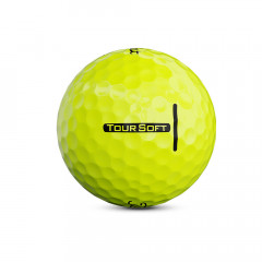 TITLEIST - BALLES DE GOLF TOUR SOFT JAUNE 3