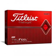 TITLEIST - BALLES DE GOLF TRUFEEL ROUGE