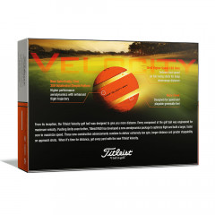 TITLEIST - BALLES DE GOLF VELOCITY ORANGE 1