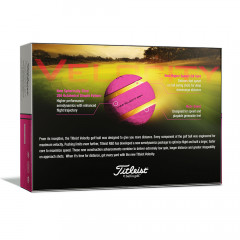 TITLEIST - BALLES DE GOLF VELOCITY ROSE 1