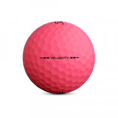 TITLEIST - BALLES DE GOLF VELOCITY ROSE 3