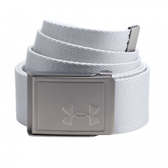 UNDER ARMOUR - CEINTURE TOILE REVERSIBLE BLANC