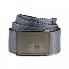 UNDER ARMOUR - CEINTURE TOILE REVERSIBLE GRIS