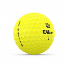WILSON - BALLES DE GOLF DUO OPTIX JAUNE 2