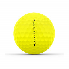 WILSON - BALLES DE GOLF DUO OPTIX JAUNE 4