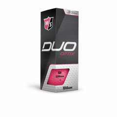 WILSON - BALLES DE GOLF DUO OPTIX ROSE 4