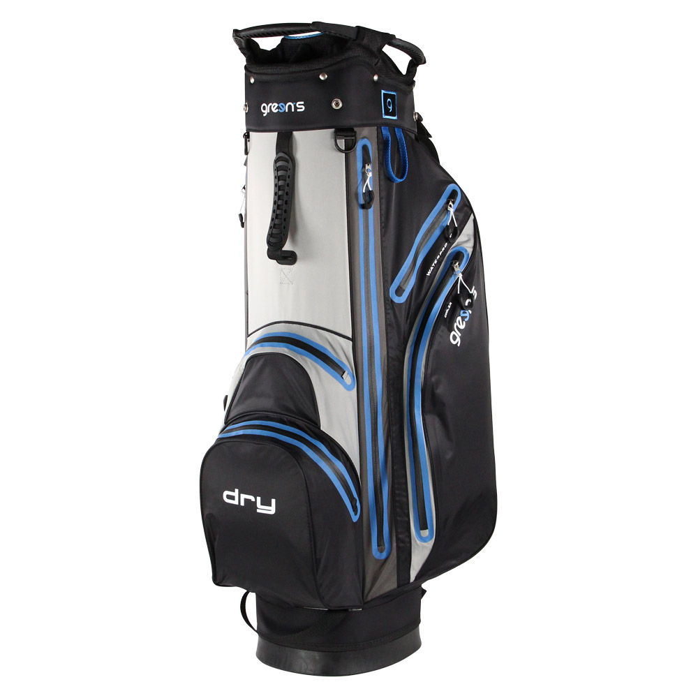 GREEN'S - SAC AQUA SUPERLIGHT CART NOIR/GRIS/BLEU