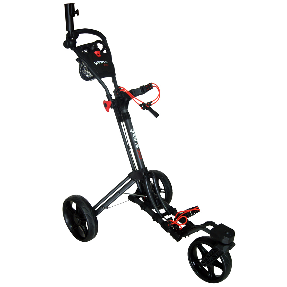 GREEN'S - CHARIOT 360-3 ROUES CHARCOAL/ROUGE