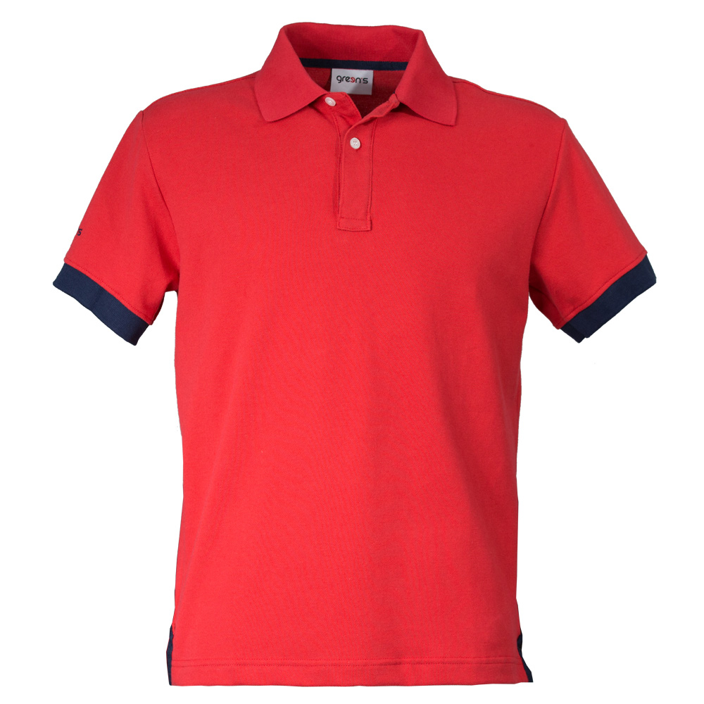 GREEN'S - POLO BOGEY  ROUGE